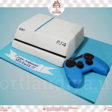 "Торт ""PlayStation 4"""